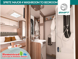 Swift Sprite 4 Washroom to Bedroom