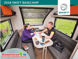 2018 Swift Basecamp Sitting Area