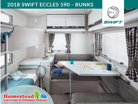 2018 Swift Eccles 590 Bunk Beds