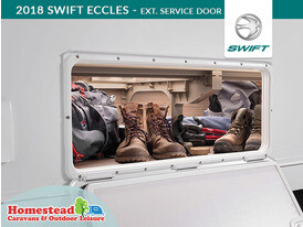 2018 Swift Eccles External Service Door