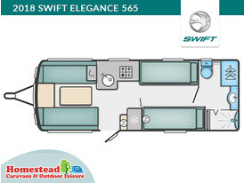 2018 Swift Elegance 565 Floor Plan