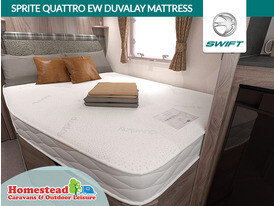 Swift Sprite Quattro EW Duvalay Mattress