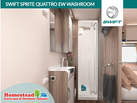 Swift Sprite Quattro EW Washroom