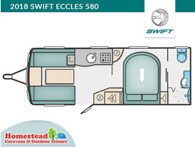 2018 Swift Eccles 580 Floor Plan
