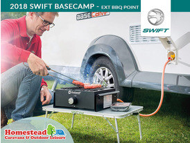 2018 Swift Gallery Basecamp Exterior Barbecue Point