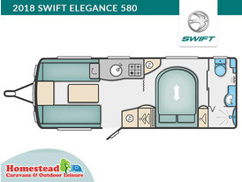 2018 Swift Elegance 580 Floor Plan