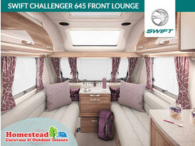 Swift Challenger 645 Front Lounge