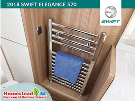 2018 Swift Elegance 570 Chrome Radiator