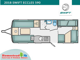 2018 Swift Eccles 590 Floor Plan