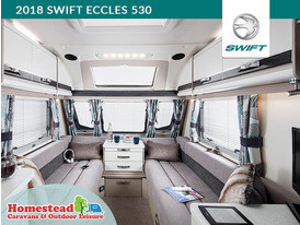 2018 Swift Eccles 530 Front Lounge