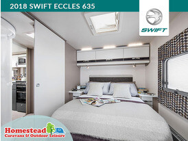 2018 Swift Eccles 635 Washroom through to Bedroom