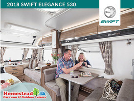 2018 Swift Elegance 530 Dinning