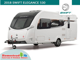 2018 Swift Elegance 530 Front Side