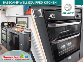 Swift Basecamp Well Equipped Kitchen