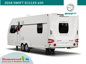 2018 Swift Eccles 635 Rear View