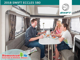 2018 Swift Eccles 580 Dining
