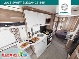2018 Swift Elegance 645 Kitchen To Rear