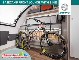 Swift Basecamp Front Lounge with Bikes
