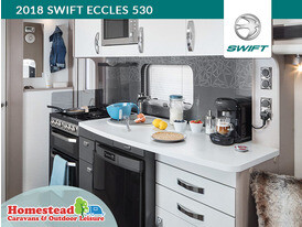 2018 Swift Eccles 530 Kitchen