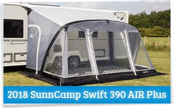 2018 SunnCamp Swift Caravan Awning Review - Homestead Caravans