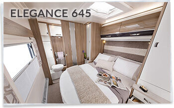 2018 Swift Elegance 645 island bed