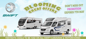 BLOOMING GREAT OFFERS FROM SWIFT THIS EASTER!