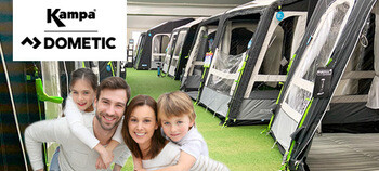 2020 Kampa Dometic Awning Showroom Now Open