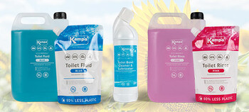 Kampa Dometic Eco-Friendly Cleaning, Care & Toilet Fluids