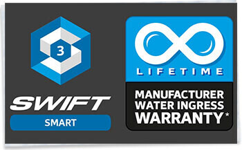 SMART 3 and Lifetime water ingress warranty logo