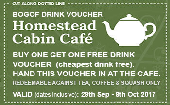 Cabin Cafe Buy One Get One Free Drink Voucher