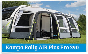 2017 Kampa Air Awnings Review Caravan Awnings
