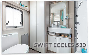 2018 Swift Eccles 530 Washroom