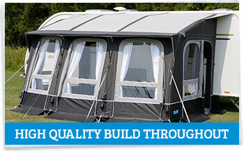 Kampa Ace AIR 400 All Season high quality construction throughout