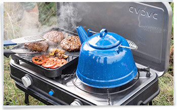Cadac Carri Chef 2 Bbq Skottel Combo.2018 Cadac Carri Chef 2 Bbq Review Homestead Caravans