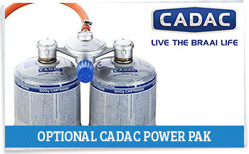 Cadac Power Pak gas suply system