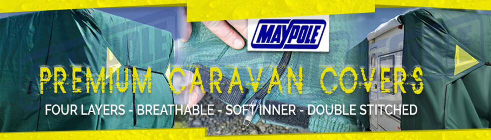 Click to buy the all new Maypole Premier Caravan Cover