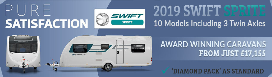 2019 Swift Sprite Range now on show