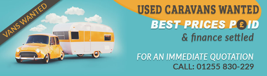 If you would like to sell your caravan give us a call on: 01255-830-229