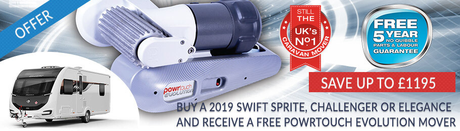 2019 Swift caravan caravan mover special offer
