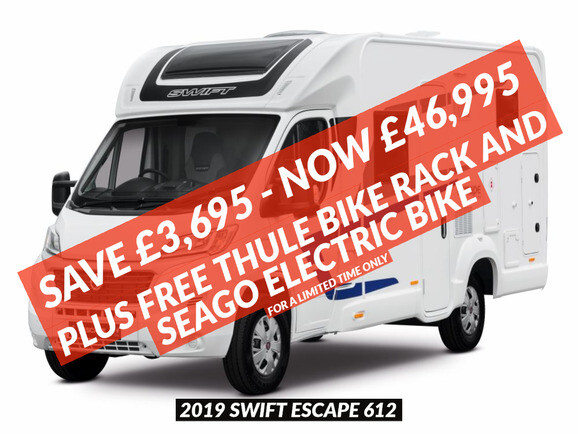 2019 Swift Escape 612 Coachbuilt Motorhome