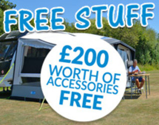 2019 Kampa AIR Awning FREE Accessory Offer