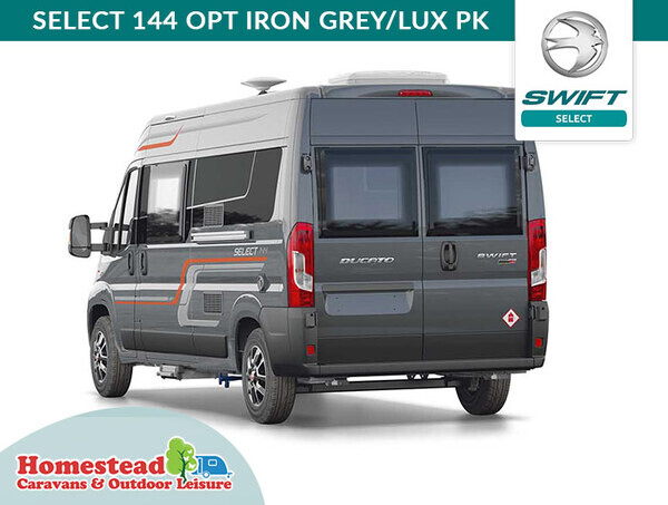 Swift Select Van Conversions available from Homestead Caravans